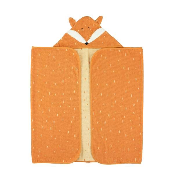 Trixie動物造型連帽浴巾 聰明狐狸