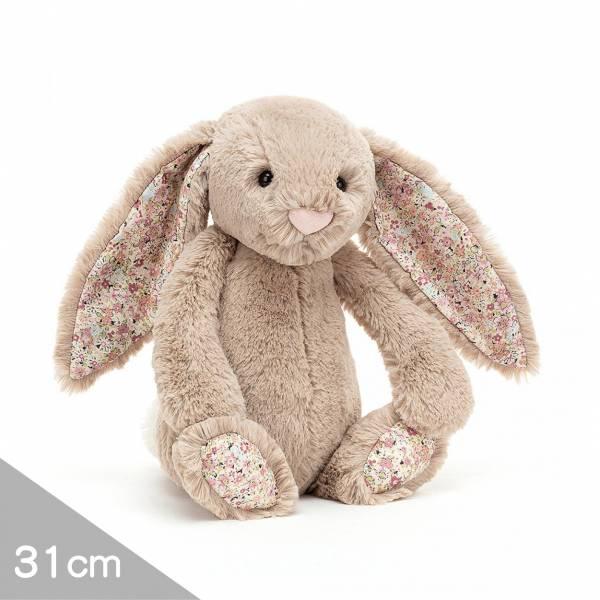 Jellycat安撫玩偶兔31cm|碎花蒙布朗灰