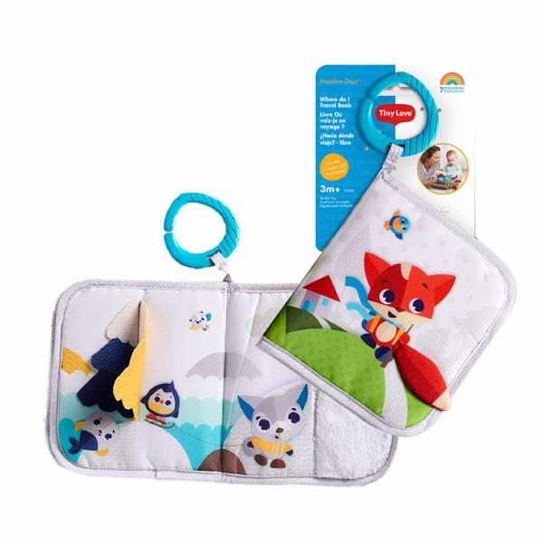 Tiny Love-遊戲布書 嬰兒玩具,感覺統合,安撫玩具,聲光玩具,TinyLove,布書,黑白布書,洗澡書,寶寶布書