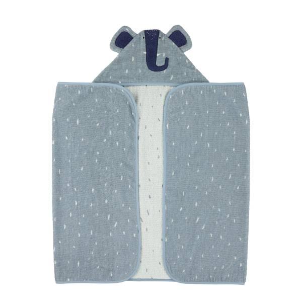 Trixie動物造型連帽浴巾 逗趣小象