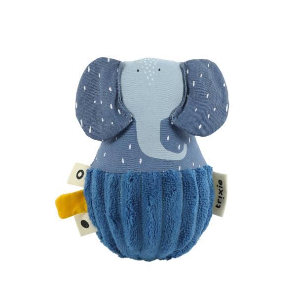 Trixie寶寶搖鈴不倒翁 逗趣小象