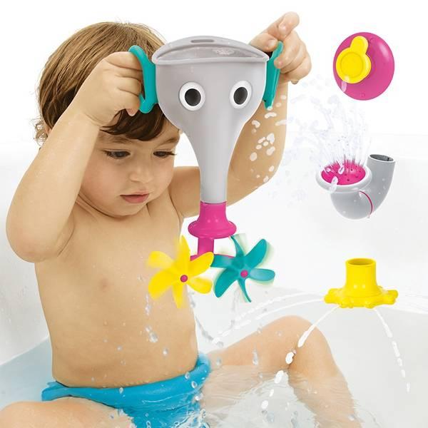 Yookidoo長鼻子小象戲水組|灰