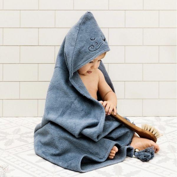 Elodie Details連帽浴巾 威尼獅 浴巾,毛巾,連帽浴巾