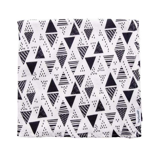 Tiny Twinkle 紗布巾|三角 tiny twinkle,紗布巾,包巾,嬰兒包巾,嬰兒被毯,推車罩