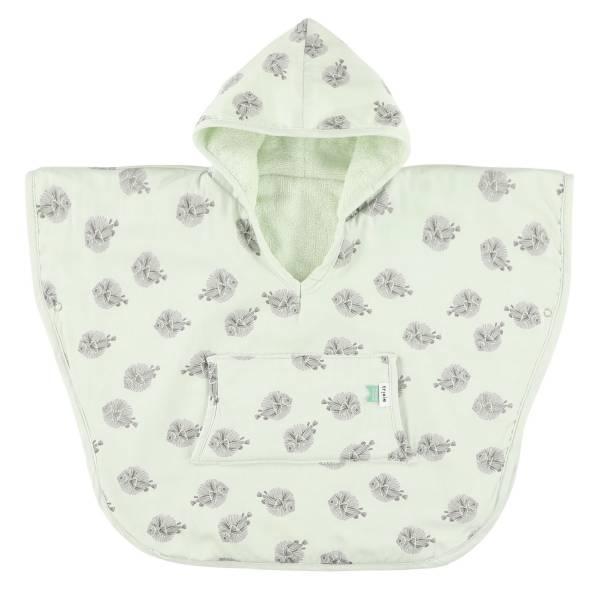 Trixie有機棉連帽斗篷(1-2Y) 噗噗小魚