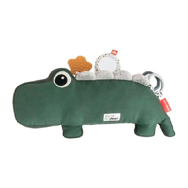 Done By Deer鱷魚趴趴枕 綠色