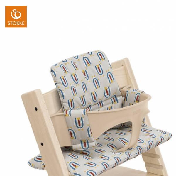 Stokke Tripp Trapp成長椅座墊(嬰幼兒款)|灰色機器人