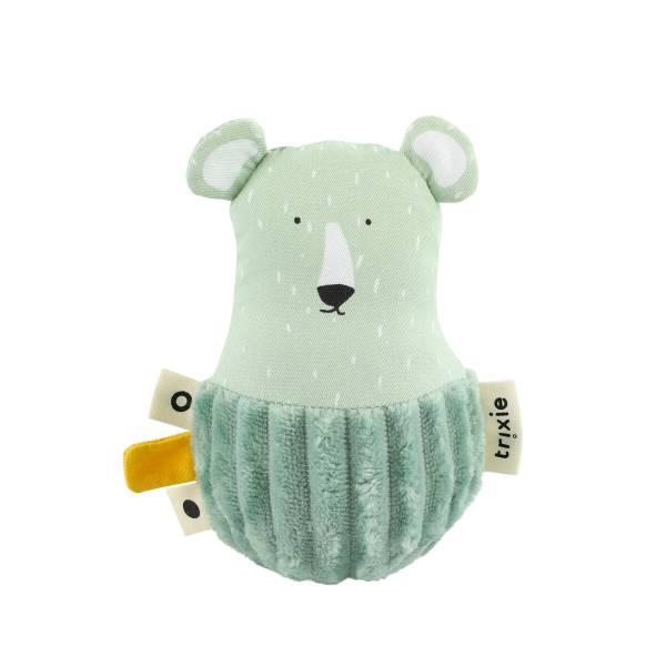 Trixie寶寶搖鈴不倒翁|可愛北極熊