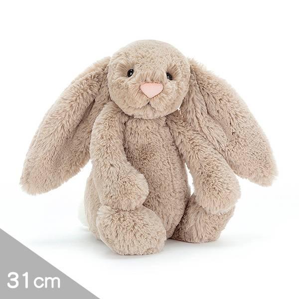 Jellycat安撫玩偶兔31cm|拿鐵灰