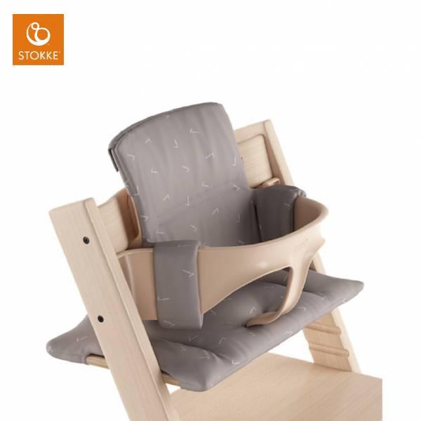 Stokke Tripp Trapp成長椅座墊(嬰幼兒款)|灰色純真 stokke餐椅,stokke成長椅,stokke,Tripp Trapp成長椅,nomi,座墊,坐墊
