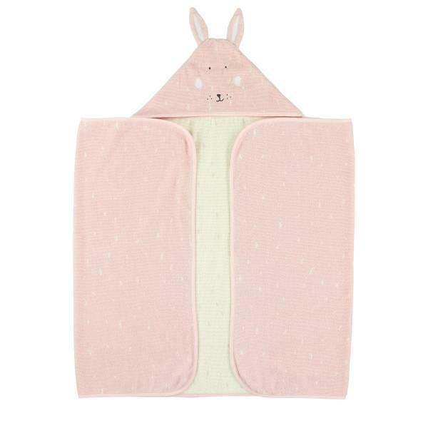 Trixie動物造型連帽浴巾 乖乖小兔
