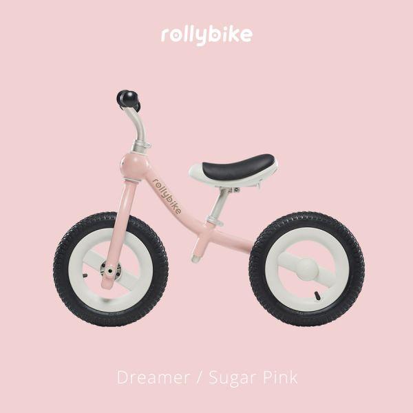 Rollybike二合一滑步車-甜莓粉 滑步車推薦,velo滑步車,rollybike,平衡車,