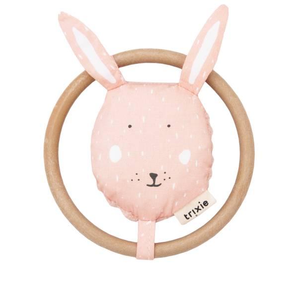 Trixie動物造型寶寶搖鈴 乖乖小兔
