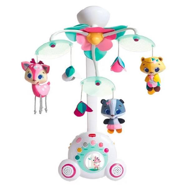 Tiny Love-豪華音樂鈴|Tiny Princess Tales(大粉) 寶寶睡覺音樂,寶寶睡眠音樂,嬰兒玩具玩具,感覺統合,安撫玩具,聲光玩具,TinyLove