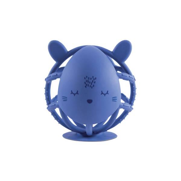 Tiny Twinkle感統咬咬球|小熊(藏青藍) oball洞動球,oball,洞洞球
