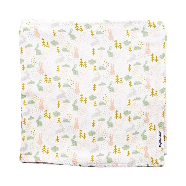 Tiny Twinkle 紗布巾 小兔 tiny twinkle,紗布巾,包巾,嬰兒包巾,嬰兒被毯,推車罩