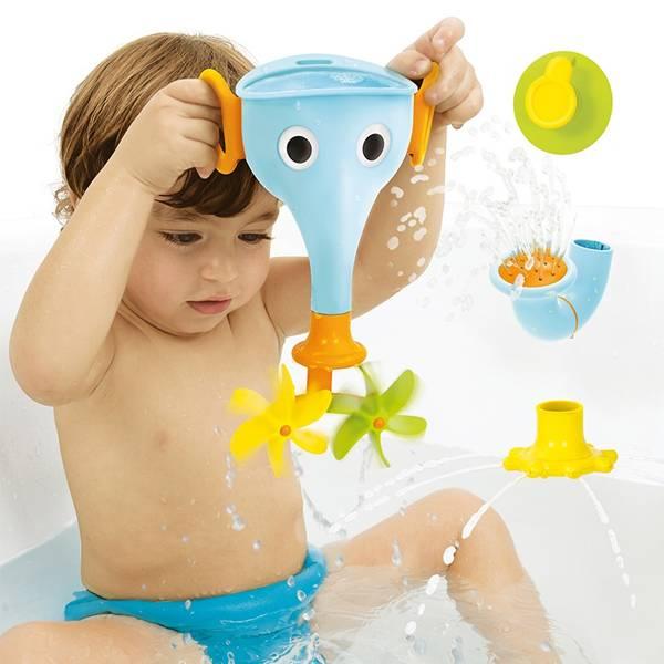 Yookidoo長鼻子小象戲水組 藍