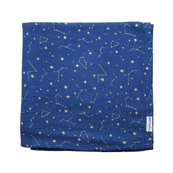 Tiny Twinkle 紗布巾 夜空 tiny twinkle,紗布巾,包巾,嬰兒包巾,嬰兒被毯,推車罩