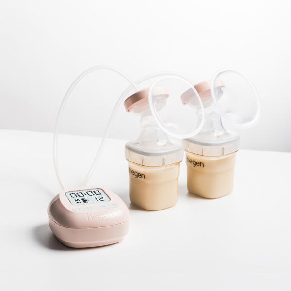 Hegen舒芙蕾多功能雙邊電動擠乳器 母乳,擠奶,擠乳,擠奶器,美樂,貝瑞克,