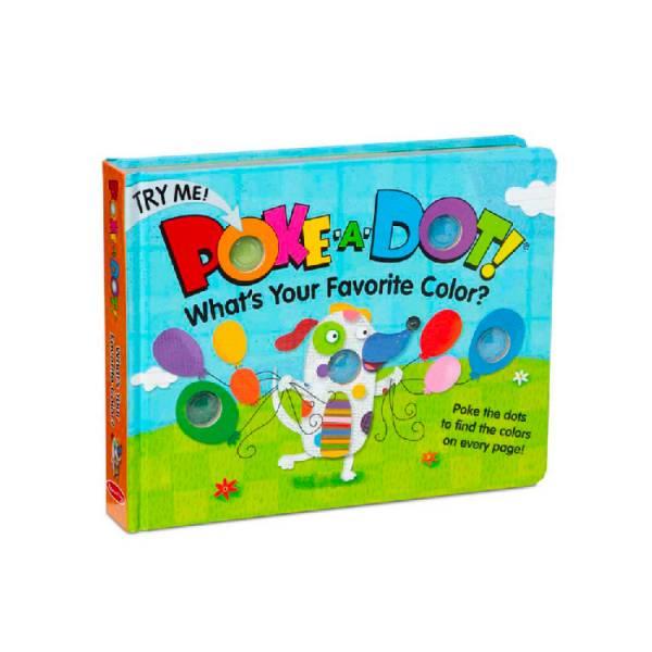 Melissa&doug泡泡書(大)-我最喜歡的顏色 洗澡玩具,洗澡書,泡泡書