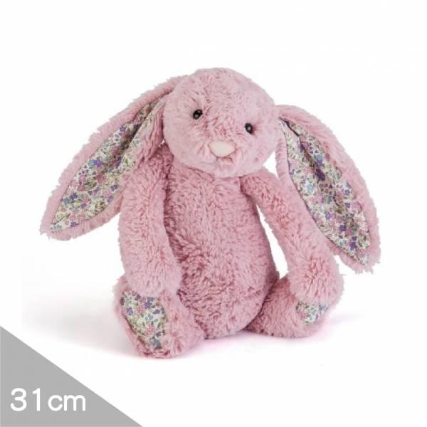 Jellycat安撫玩偶兔31cm|碎花粉