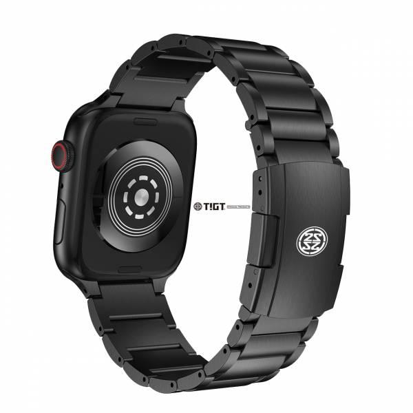 Apple Watch 40mm 專用鈦金屬錶帶 + 不銹鋼錶扣 - 黑色 PVD 厚體版本 Apple Watch,Titanium,Apple Watch Strap