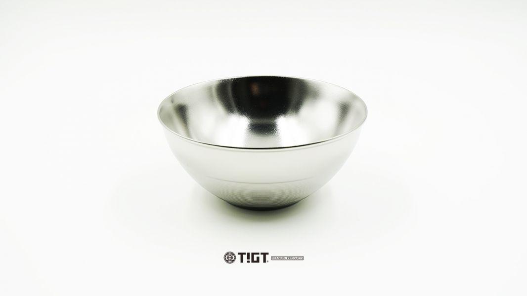 <預購>TIGT - 鈦碗 300cc 一只裝- <鈦含量 99%,雙層結構> 鈦縭碗 碗 餐具 環保 時尚潮流