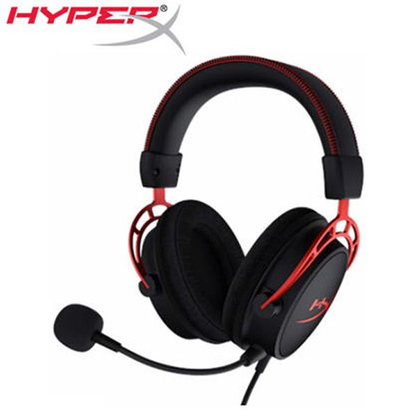 【HyperX】Cloud Alpha電競耳機麥克風(HX-HSCA-RD/AS)