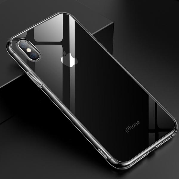 iPhone XS/Max/XR/X/8/7/Plus 晶透系列 高透玻璃背板+TPU邊框 手機保護殼 晶透系列,高透玻璃背板,TPU包邊,手機保護殼,手機保護套,手機殼