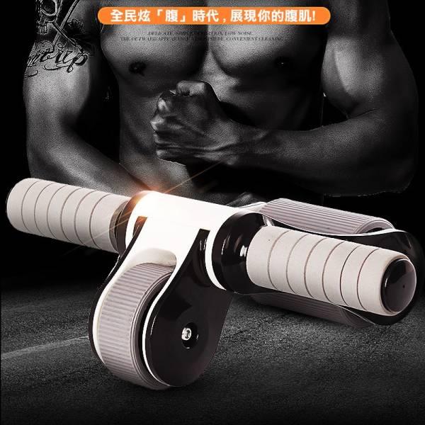 多功能折疊健腹輪 多功能折疊健腹輪,摺疊健腹輪,健身器材,腹肌,健身