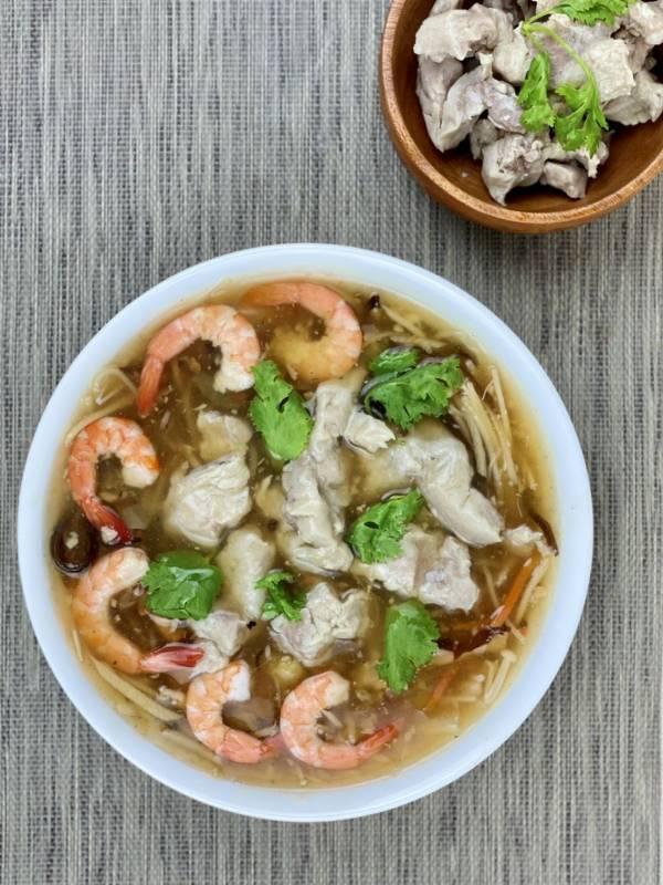 很好吃古早味蝦仁肉羹-1包(1公斤)-加熱即食