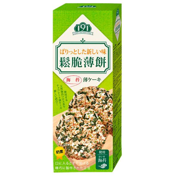Enjoy鬆脆薄餅(海苔)132g-奶素