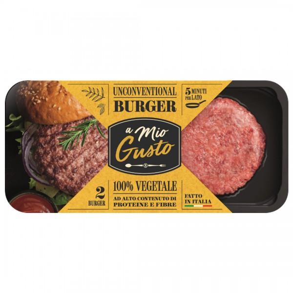 義大利Unconventional超級漢堡排220g-純素