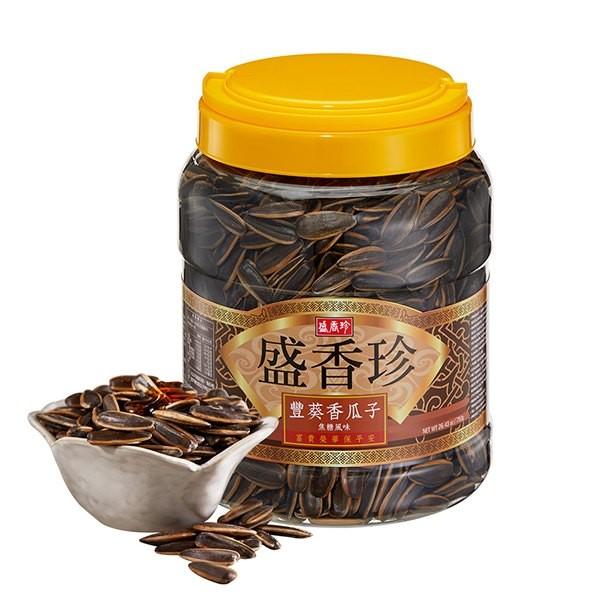 盛香珍豐葵香瓜子(焦糖風味)-全素
