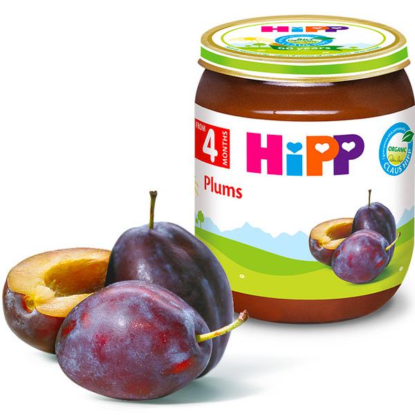 HiPP喜寶有機黑棗泥125g-全素