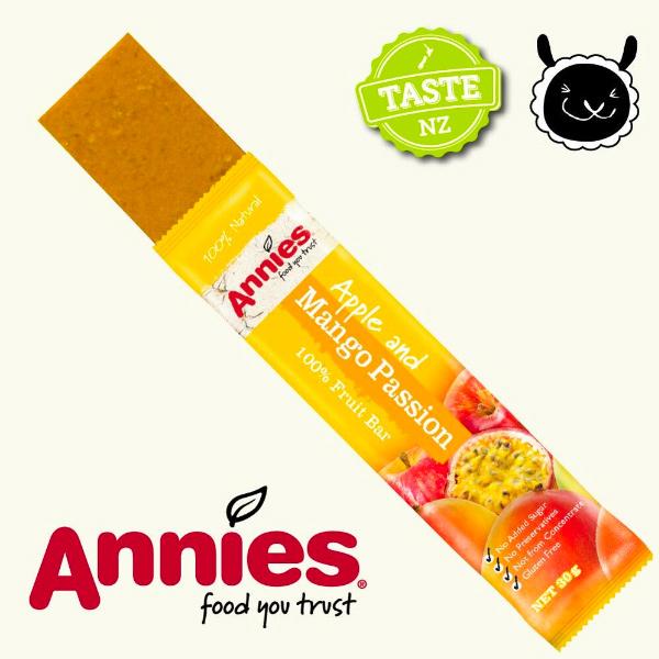 Annies紐西蘭全天然水果條(百香芒果)90g-全素