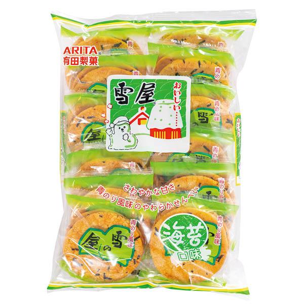 有田製菓雪屋(海苔口味)190g-全素