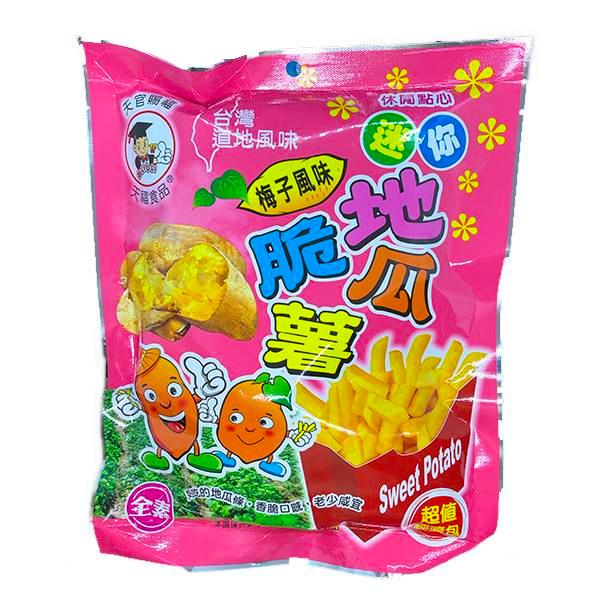 天福地瓜脆薯(梅子風味)-全素