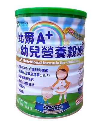 美好人生比爾A+幼兒營養穀奶900g-奶素