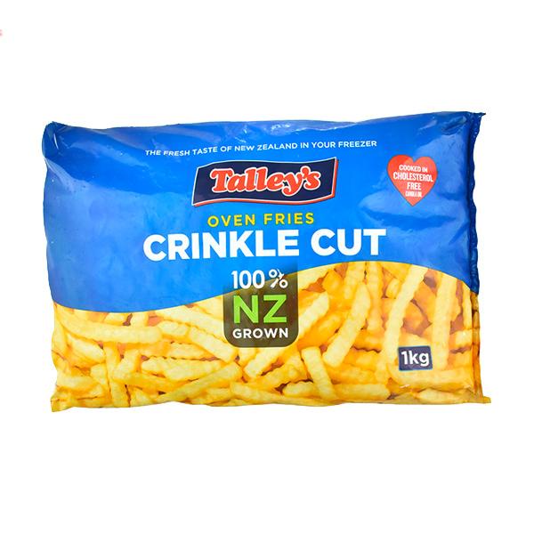泰利1/2波浪薯條1kg-全素