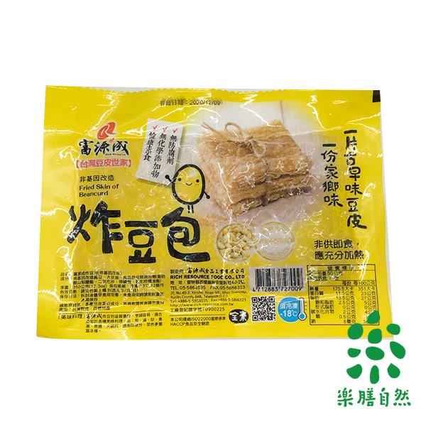 富源成非基改炸豆包350g-全素