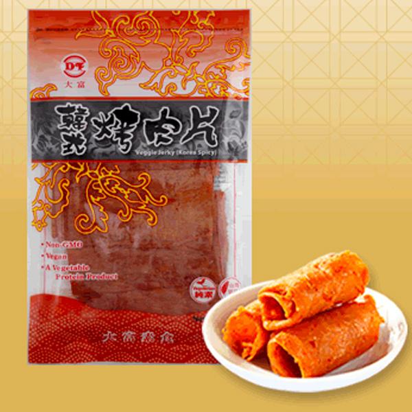 大富韓式烤肉片120g-全素