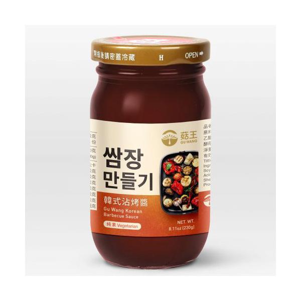 菇王韓式沾烤醬230g-全素