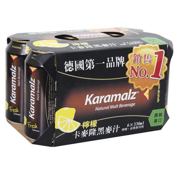 卡麥隆黑麥汁330ml(檸檬)6入-全素