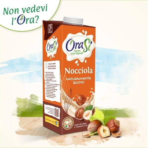 歐瑞仕Orasi榛果奶1公升