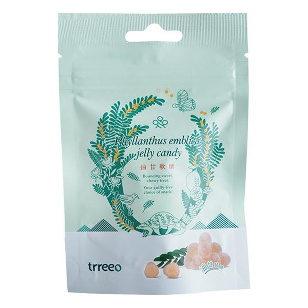 樹重奏油甘軟糖35g-全素