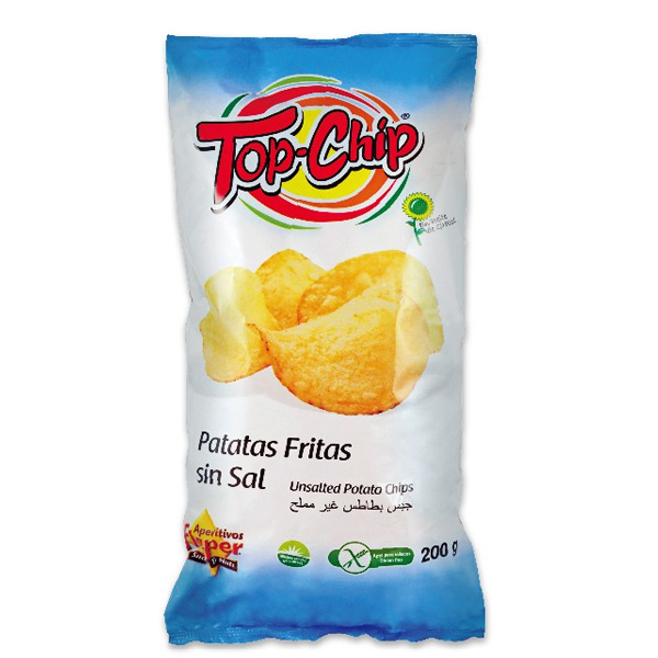 飛寶TOP CHIP洋芋片(無鹽)200g-全素
