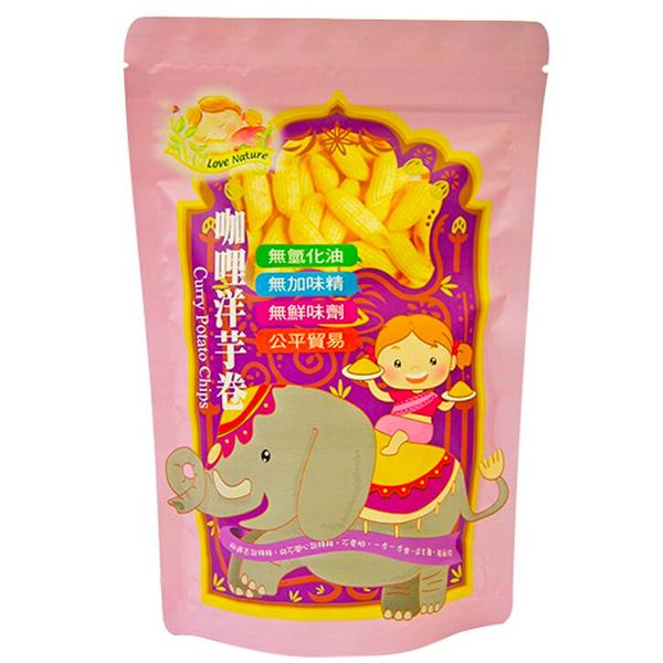 集賢庇護工場咖哩洋芋卷-全素