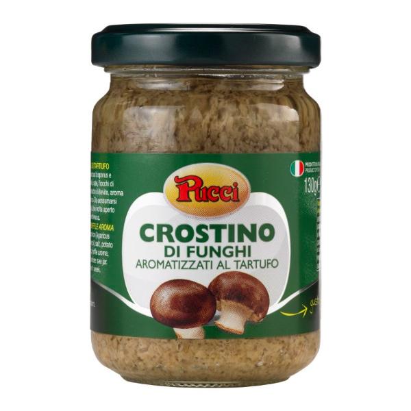 義大利Pucci松露風味菌菇抹醬-全素