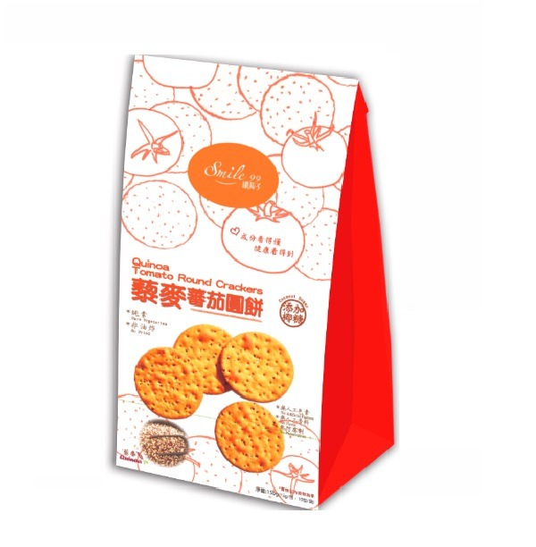 Smile99藜麥番茄圓餅-全素